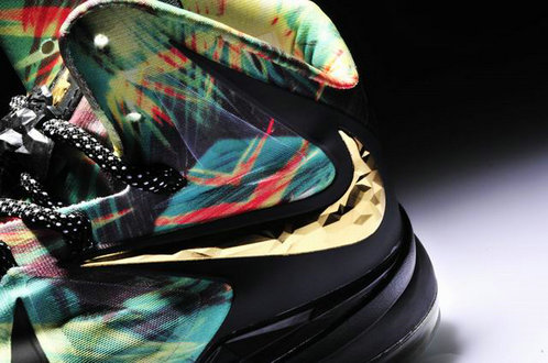 Cheap Wholesale Lebron 10 Black Gold Blue Red Limited Editions