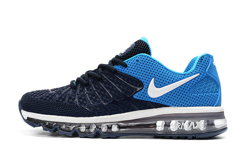 Cheap Wholesale Newest Nike Air Max 2017 Mens Navy Baby Blue