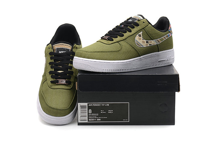 Wholesale Cheap Nike Air Force One Nike AF1 07 Mens Army