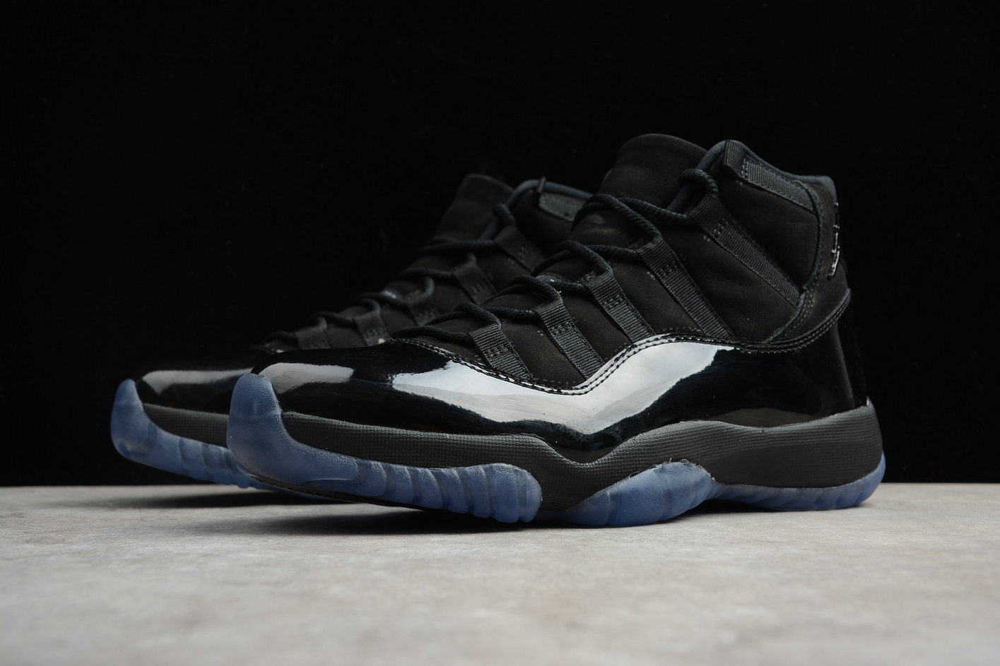 Wholesale Cheap Nike Air Jordan 11 Rero High OG 378037-005 Black Royal Blue