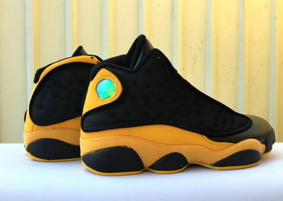 new product 771dd 23033 Wholesale Cheap Nike Air Jordan 13 Retro QS Black Yellow ...