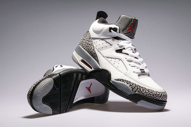 Cheap Wholesale Nike Air Jordan Son Of Low White GREY Black Red