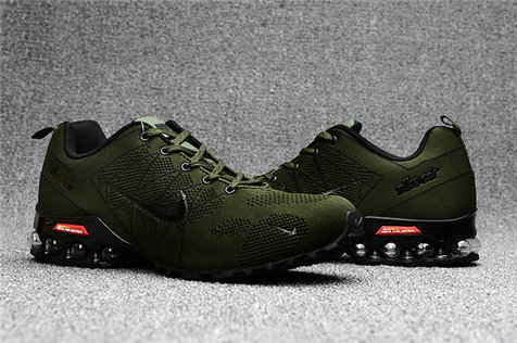 Cheap Wholesale Nike Air Max 2018 Ultra Zoom Army Green Black Running Shoes