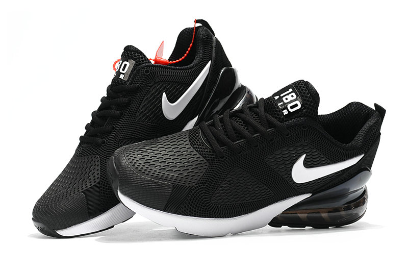 Wholesale Cheap Nike Air Max 270 Running Shoes Rubber Label Black White