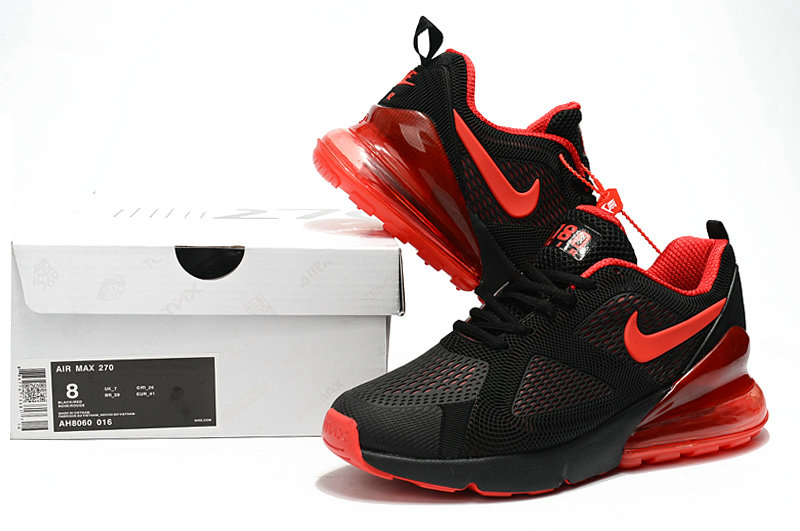 new styles bd39c 608e4 ... Wholesale Cheap Nike Air Max 270 Running Shoes Rubber Label University  Red Black ...