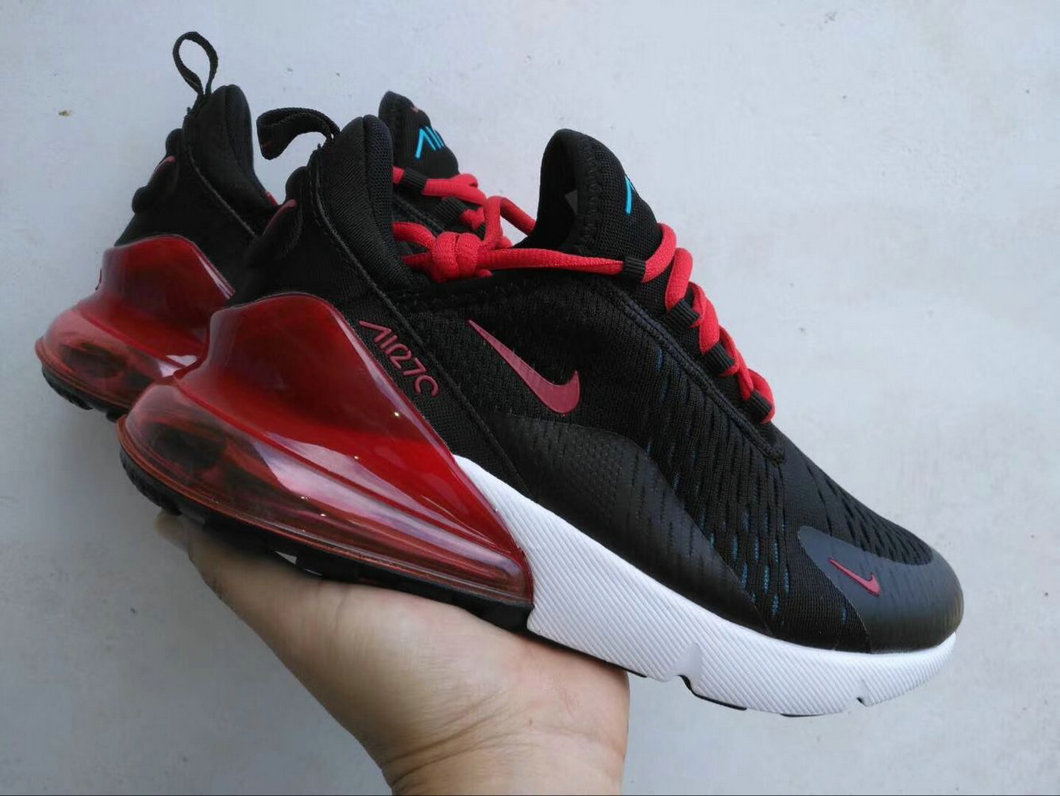 Wholesale Cheap Nike Air Max 270 Shoes Red Black White