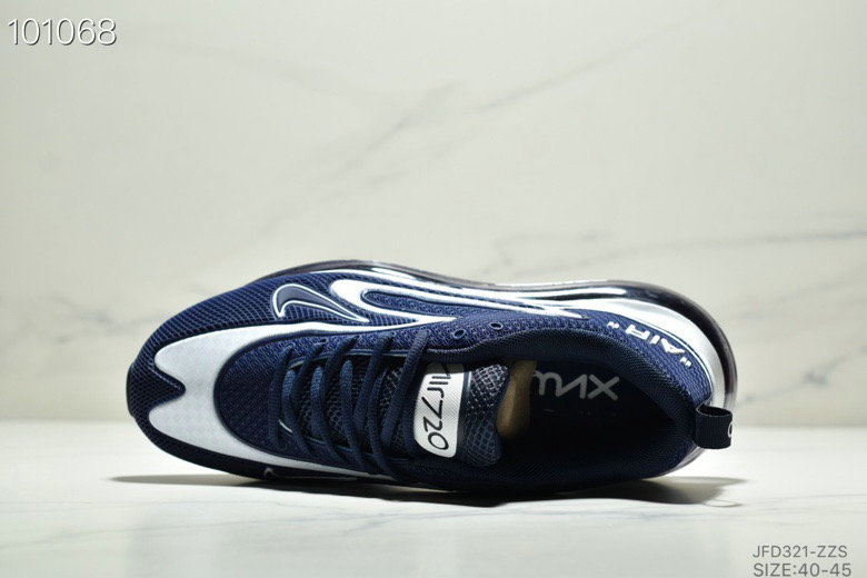Wholesale Cheap Nike Air Max 720 PRM Navy Blue White