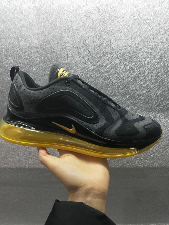 Wholesale Cheap Nike Air Max 720 Run 2019 New Arrival Black Golden