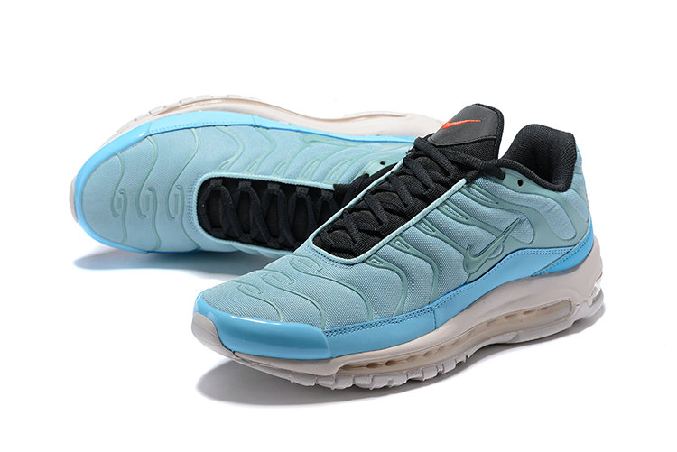 46c2cff1d87 Wholesale Cheap Nike Air Max 97 Plus Max TN Light Blue White - China ...