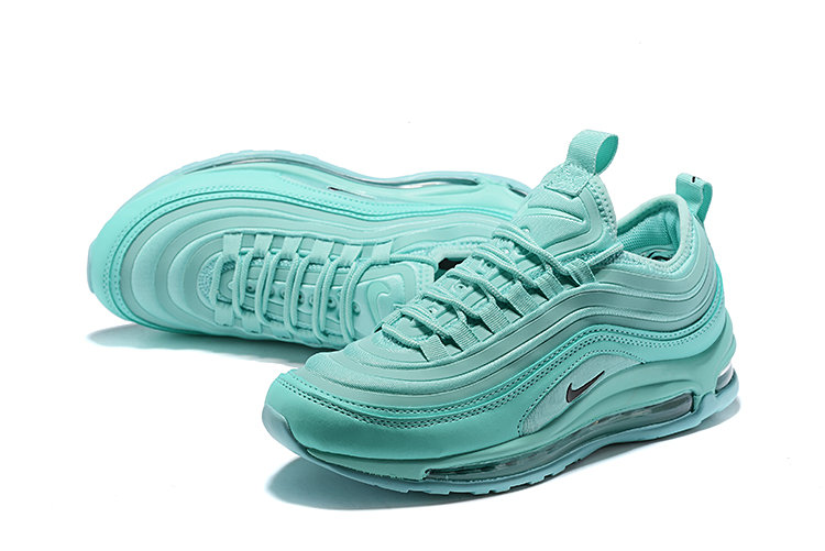 Wholesale Cheap Nike Air Max 97 Running Shoes Apple Green