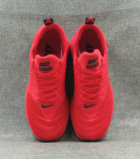 Cheap Wholesale Nike Air Max DLX Fire Red Black Running Shoes