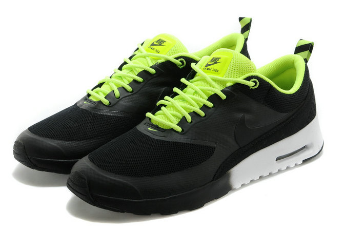 Cheap Wholesale Nike Air Max Thea Black Green