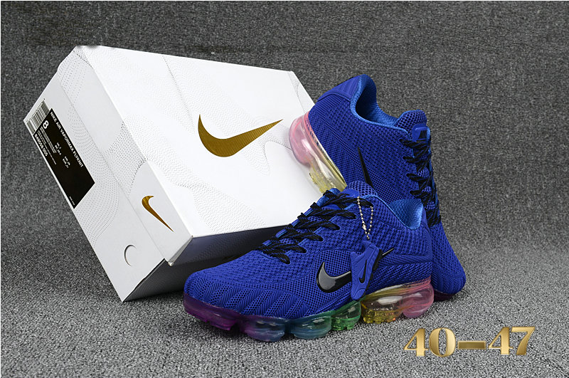 Cheap Wholesale Nike Air Maxs 2018 Navy Blue Colorful