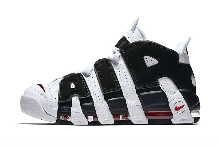 Cheap Wholesale Nike Air More Uptempo Navy Blue White Red