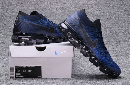 Cheap Wholesale Nike Air VaporMax  2018 Navy Blue Black Running Shoes