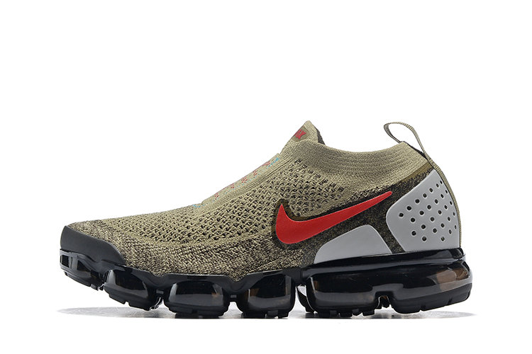 Wholesale Cheap Nike Air VaporMax Flyknit 2.0 Womens Shoes Red Brown Black