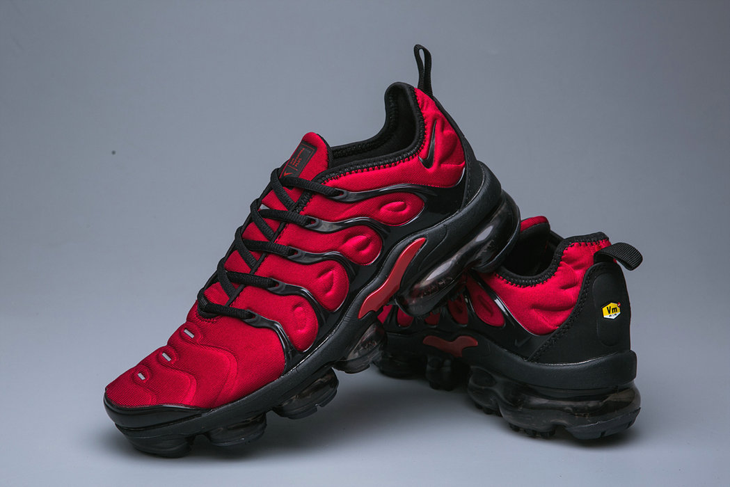 new product 53f86 4856f Cheap Wholesale Nike Air VaporMax Plus Deep Red Black ...