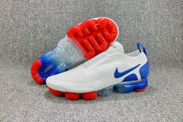 48298c6817a63 ... Wholesale Cheap Nike Air VaporMaxs Flyknit MOC 2 Thunder Blue Black  Terra Blush Bleu Tonnerre Terra