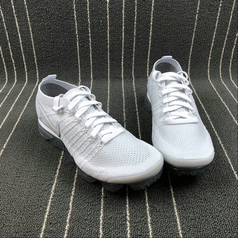 04722103ba1 ... Wholesale Cheap Nike Air Vapormax FLYKNIT 2.0 942842-105 Triple White  ...