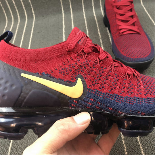 size 40 e4276 dce80 ... Wholesale Cheap Nike Air Vapormax FLYKNIT 2.0 942842-702 Dark Blue Red  Bleu Fonce Rouge