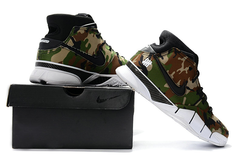 Cheap Wholesale Nike Kobe 1 Protro Army Green White Black