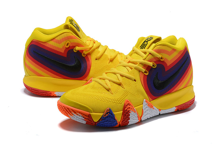 eefe5a6ff8ea ... Wholesale Cheap Nike Kyrie 4 Irving Basketball Shoes Yellow White Black  Orange Red Blue ...