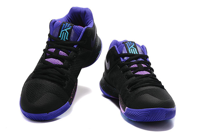 Cheap Wholesale Nike Kyrie Irving 3 III Blue Black Purple