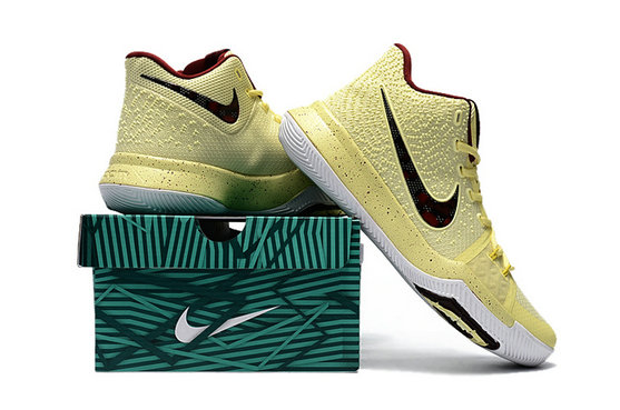 Cheap Wholesale Nike Kyrie Irving 3 III Yellow Black