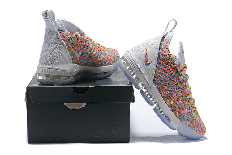 816916025c62 Wholesale Cheap Nike LeBron 16 Multicolor Against Spurs - China ...