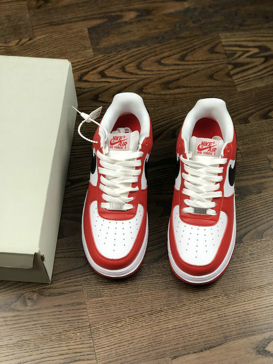 new arrival 309e4 30f0a ... Wholesale Cheap Nike Nike Air Force 1 07 315122-126 Red White Black