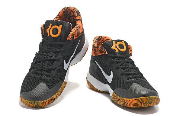 Cheap Wholesale Nike Zoom KD Trey 5 Hight Yellow Orange Black White