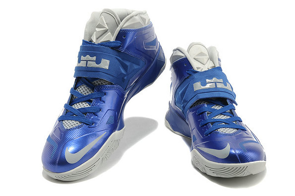 Cheap Wholesale Nike Zoom Soldier VII Blue White