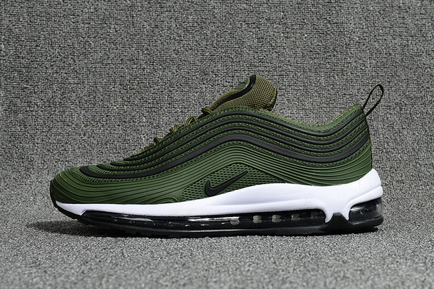 Cheap Wholesale NikeLab Air Max 97 Army Green Black White Air Max Sale