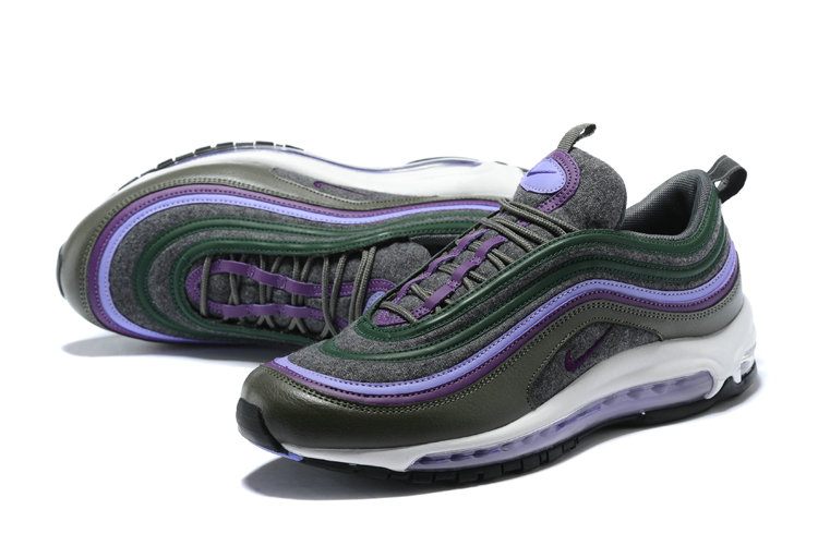 shop best sellers best shoes online shop Cheap NikeLab Air Max 97 Ultra For Mens Green Black Purple ...