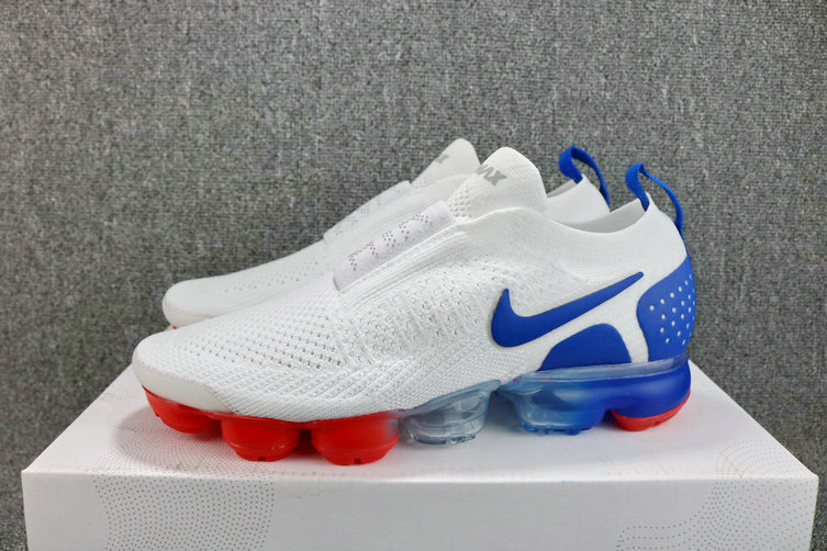 3555159da4f04 ... Wholesale Cheap Womens Nike Air VaporMax Flyknit MOC 2 Thunder Blue  Black Terra Blush Bleu Tonnerre ...