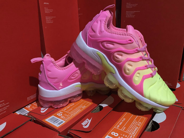 fa191f250c54 Cheap Womens NikeLab Air VaporMax Plus Pink Yellow White - China ...