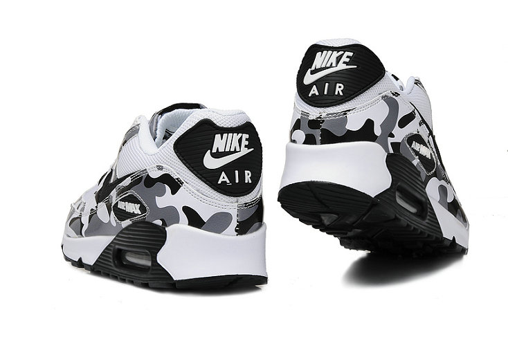 Discount Nike Air Max 90s Grey Black White