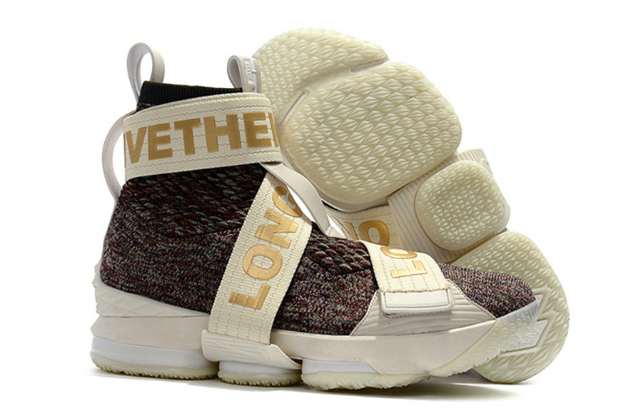 Cheap Wholesale KITH x Nike LeBron 15 Lifestyle Stained Glass Mens Basketball Shoes