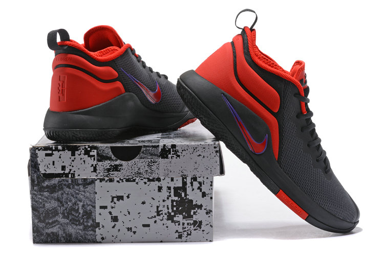 Lebron Sneakers Cheap Wholesale Nike Lebron Witness 2 Red Blue Black