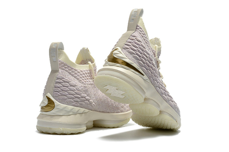 2680d39608996 ... Cheap Wholesale Mens KITH x Nike LeBron 15 Rose Gold Long Live the King  Basketball Shoes