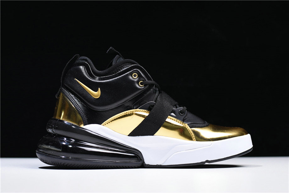 Cheap Wholesale Mens Nike Air Force 270 QS Gold Standard AT5752-700 On Sale
