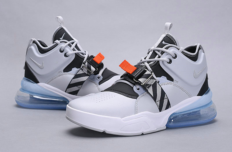 Wholesale Nike Air Force 270 White Black Blue