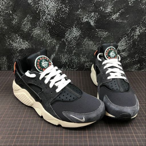 best service 55862 63555 ... Cheap Wholesale Nike Air Huarache Run PRM 704830-015 Oil Grey Sail  Rainforest Gris Petrole ...