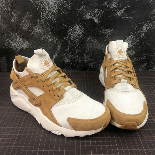 Cheap Wholesale Nike Air Huarache Run ULTRA 829669-017 Off White Wheat Color Blanc Casse Ble Couleur