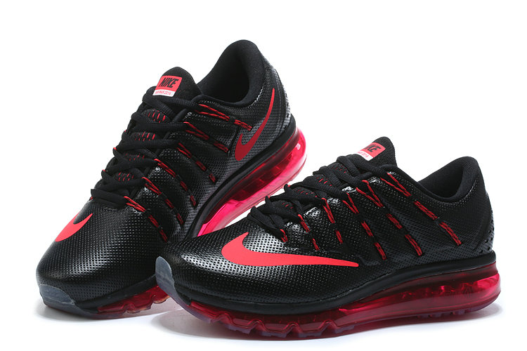 Nike Air Max Cheap Wholesale Nike Air Max 2016 Leather Pink Red Black