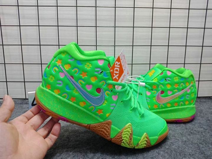 buy popular 24b03 d3c0c Cheap Wholesale Nike Kyrie 4 Green Lucky Charms - China ...