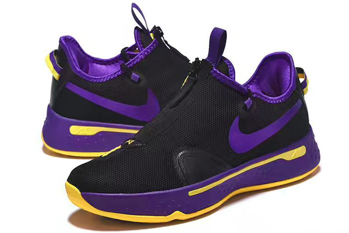 Where To Buy Nike PG 4 Black Purple-Yellow 2020 For Sale