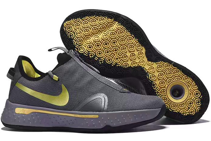 Where To Buy Nike PG 4 Cool Grey Metallic Gold-Black 2020 For Sale