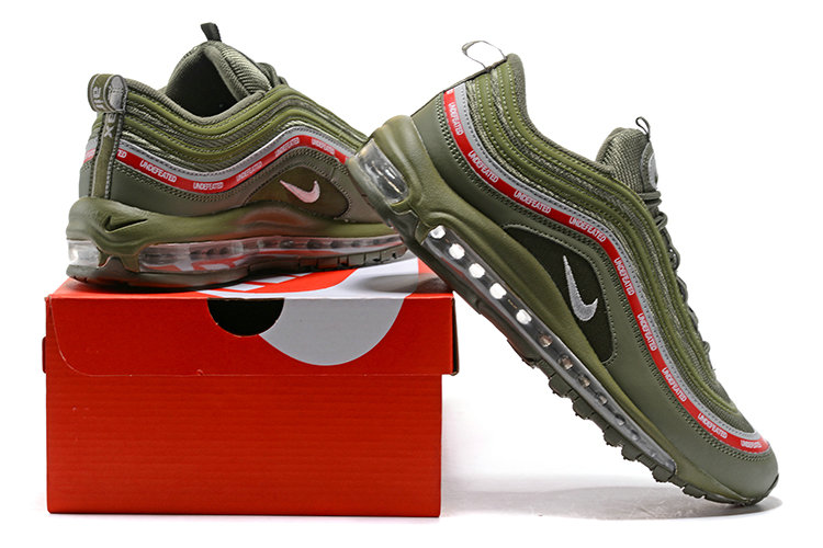 Undefeated x Nike Air Max 97 20th Anniversary Army Green