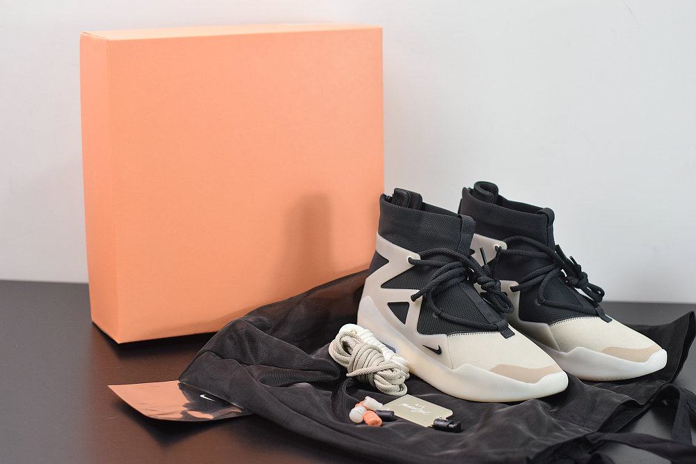 Where To Buy 2020 Wholesale Cheap Nike Air Fear of God 1 String The Question Multi Color OFF Noir String Couleur Multiple AR4237-902